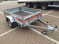 Brand new TEMA PRO car box trailer