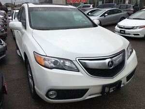 2014 Acura RDX TECH PACK   NAV   LEATHER   ONE OWNER   REAR CAM