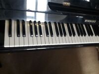 Black Knight upright piano