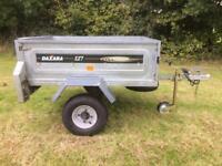 Daxara 127 Trailer Tip Tipper Trailor Garden Camping DIY 400KG Halfords