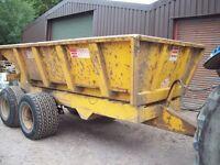 Marston Dump Trailer for Sale.