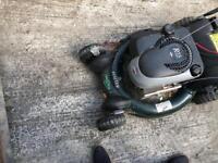 Petrol lawn mower grass cutter pull start or key r53 haytor not Honda or Yamaha house garden cutter