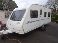 Sterling Europa 2008 495 4 Berth Fixed Bed With Full Awning