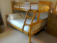 Double and Single Bunkbed