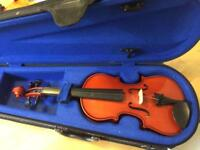 1/8th size violin - excellent condition