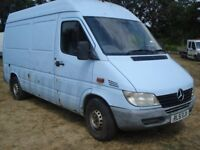 MERCEDES BENZ SPRINTER 2002