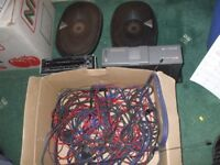 KENWOOD STEREO, CD CHANGER AND SPEAKERS