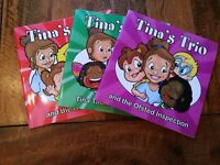 Tina's Trio Collection - Childminder Books - All About Life With A Childminder