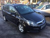 2007/07 VAUXHALL ZAFIRA 1.6i 16V CLUB 5 DOOR 5 DR,7 SEATER FAMILY CAR,EXCELLENT CONDITION,HIGH SPEC