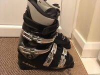 Ski Boots, 2 Pairs, Both Ladies Size 6-7 approx.
