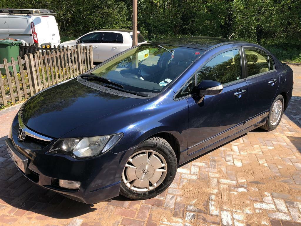 Owners Honda Com >> Hybrid Fsh 2 Owners Honda Civic Ima 1 3l In Chingford London Gumtree