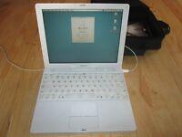 ibook G4 - Mac OSX 10.4.11 - laptop