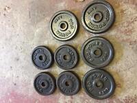 Cast iron weights