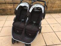Britax B-Agile Double Buggy & Car Seat