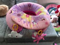 Baby Red Kite Play Matt,Sit Me Up Ring And Musical Unicorn Toy