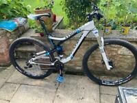 Cannondale trigger full suspension mountain bike will post