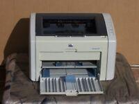 Selling a laser printer: HP Laserjet 1022