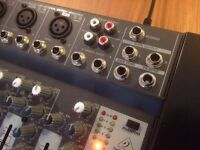 Behringer Xenyx 1002B Mixer (for laptop and microphone input)