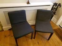 Ikea Nils chair x2