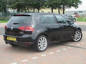 Volkswagen Golf GT TDI BLUEMOTION TECHNOLOGY (black) 2014-05-24