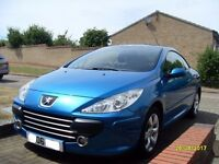 Peugeot 307 cc convertible only 69k miles
