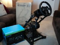 Logitech G920 steering wheel bundle for Xbox one and PC (great condition)