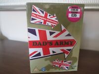 DAD'S ARMY - The Complete collection (1-9) 14 DISC BOX SET - BRAND NEW & FACTORY SEALED