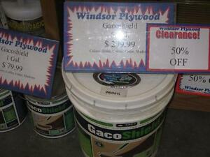 CLEARANCE 50% OFF GACO SHIELD DECK COATING - LIMITED QUANTITES