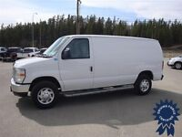 2013 Ford E-250 Cargo Van, 10,700 KMs, Ready To Work, RWD System