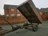 Ferguson Tractor tipping trailer ideal for stables logs etc