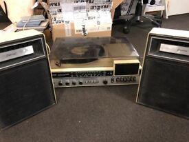 Vintage Capetronic vinyl Turntable