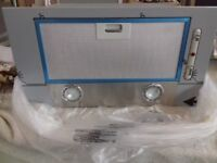 luxair canopy hood stainless steel new in box