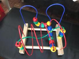 Ikea wooden rollercoaster