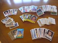 FOOTBALL COLLECTORS CARDS