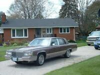 1990 Cadillac Brougham Leather Sedan