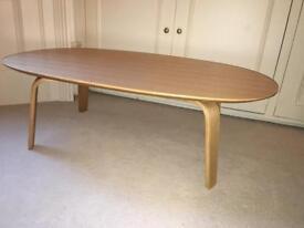 MUJI Ash Oval Coffee Table
