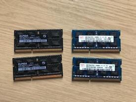 4x 4Gb RAM PC3-12800
