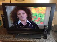 "Excellent 26""SONY LCD HD ready TV+freeveiw inbuilt"