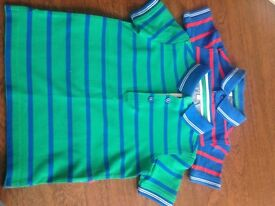 2 X polo shirts m&s 18 m - 2 year - hardly worn