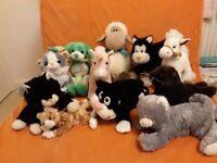Bag of soft toys