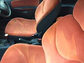 Citroen c2 seats orange 1.1 breaking for spares