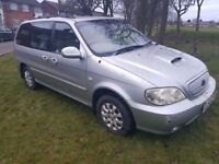 KIA SEDONA 7 SEATER AUTOMATIC ( ANY OLD CAR PX WELCOME )