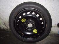 Saab Space Saver Wheel and Tyre