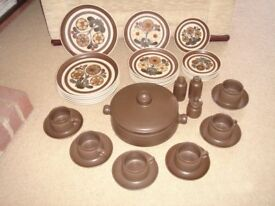 Denby Pottery Dinerware - Mayflower Pattern
