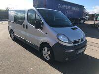 Vauxhall Vivaro Sportive Factory Crew Van with AC 12 Months Mot like trafic transit