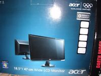 ACER 18.5 WIDE LCD MONITOR