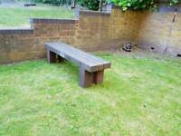 Orchards street furniture (bench)