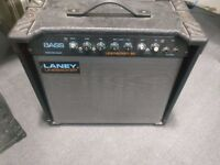 Laney linebacker 50 - bass amplifier and cabinet