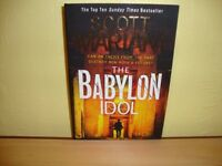 Scott Mariani - The Babylon idol (paperback). £1. Good condition.