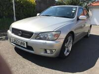 Lexus IS200, 2003 reg, 97,000 miles, Full Service History, Good condition, mechanically faultless.